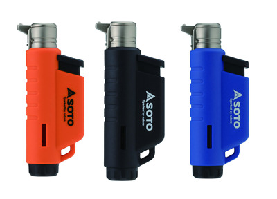 Soto Micro Torch Vertical - Gas Blow Torch Lighter - 3 Colours Available • 15.95£