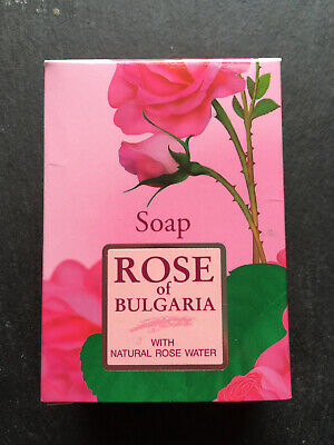 Rose Of Bulgaria Soap With Natural Rose Water 100g • 2.99£