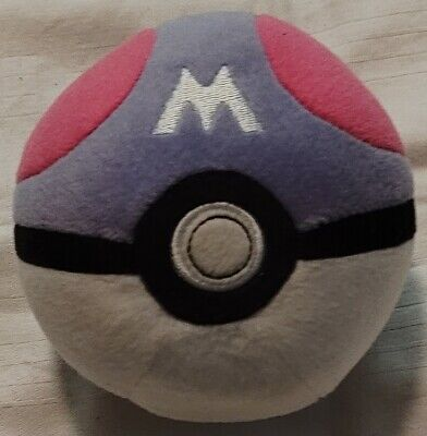 Pokemon Master Poke Ball 5  Soft Plush Toy - Official Tomy • 5.80£