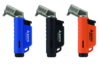 £15.95 • Buy Soto Micro Torch Horizontal  - Gas Blow Torch Lighter - 3 Colours Available