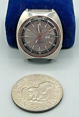$ CDN29.86 • Buy Vintage Mens Seiko 5 Sport WR 21J Automatic Watch 6119-6023 Day Date NO BAND