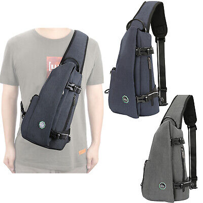 $17.40 • Buy Concealed Canvas Sling Bag Backpack Anti Theft Cross Body Sling Chest Bag Pack