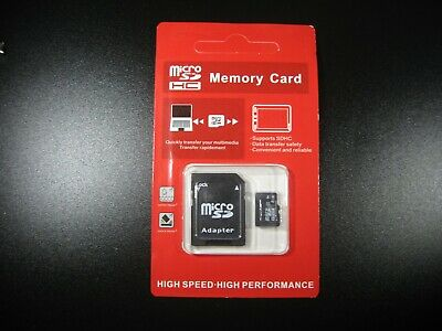 AU13.50 • Buy 8GB Micro SD Card TF Flash Memory MicroSD Micro SDHC Class 10 With Adapter