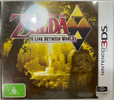 AU20 • Buy The Legend Of Zelda: A Link Between Worlds - Nintendo 3DS