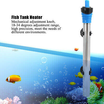 $ CDN21.49 • Buy 500W Stainless Steel Heater Heating Rod With Suction Cup For Aquarium Fish Tank