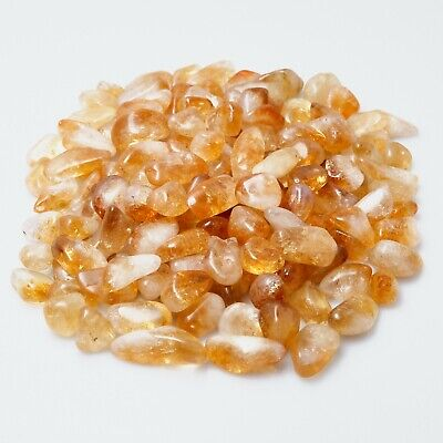 £5.49 • Buy Extra Small Citrine Crystals Mini Chips Crafts Gemstone Undrilled Stones 10-20mm