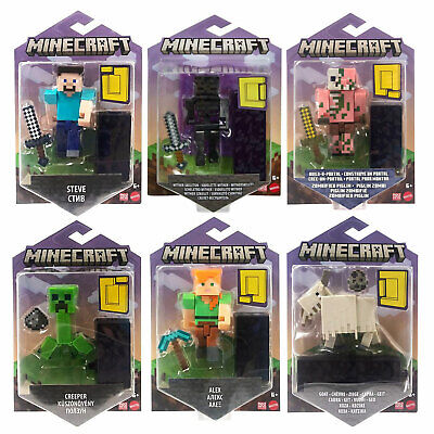£12.99 • Buy Minecraft Core 3.25-Inch Action Figures *CHOOSE YOUR FAVOURITE*
