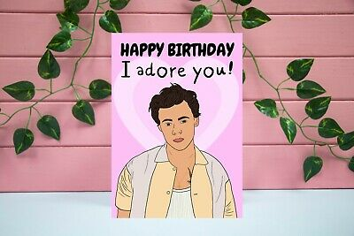 £2.95 • Buy HARRY STYLES  - One Direction  - 1D  - Boy Band  - Directioner - Birthday Card
