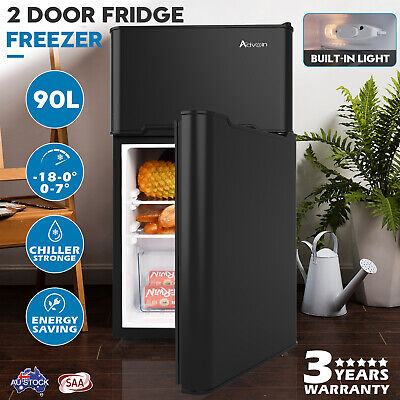 AU299.90 • Buy 90L Fridge Freezer Portable Beer Beverage Bar Home Commercial Refrigerator Black