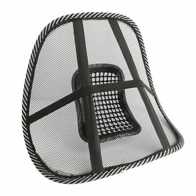 AU14.99 • Buy 2x Office Chair Lumbar Mesh Back Support Cushion Seat Posture Corrector Support