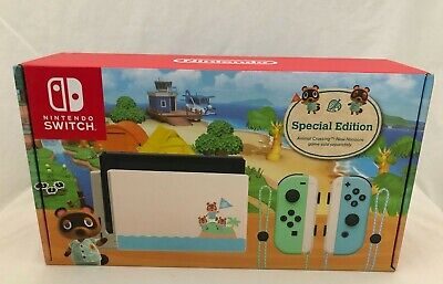 AU549 • Buy Animal Crossing Edition Nintendo Switch Console New Aus Stock