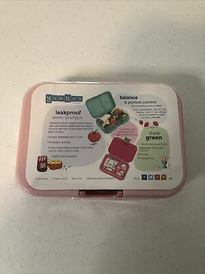 AU20.04 • Buy Yumbox Panino Leakproof Bento Lunch Box Container, Pink