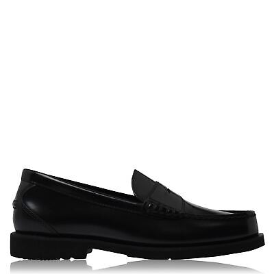 Rockport Mens Shakespeare Circle Loafers Smart Shoes Leather Upper Shock • 55£