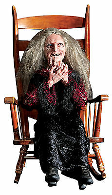 $ CDN361.05 • Buy Halloween Life Size Animated Laughing Witch Hag  Prop Decoration Animatronic