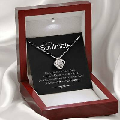 AU53.38 • Buy Necklace Gift For Her, Valentines Day Gift, For Wife, Girlfriend