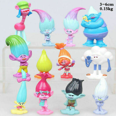 £7.99 • Buy 12 Pcs/set Movie Trolls Poppy Branch Action Figures Cake Toppers Doll Toy Gifts