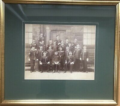Military Photo - World War 1 - Lancashire Fusiliers Squad In Premium Gold Frame • 21£