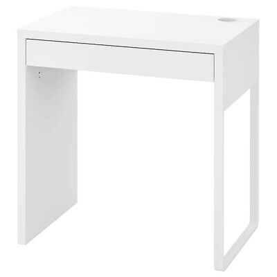 New Ikea Micke Table Desk WorkStation Furniture Home Office Computer White 73x50 • 63.99£