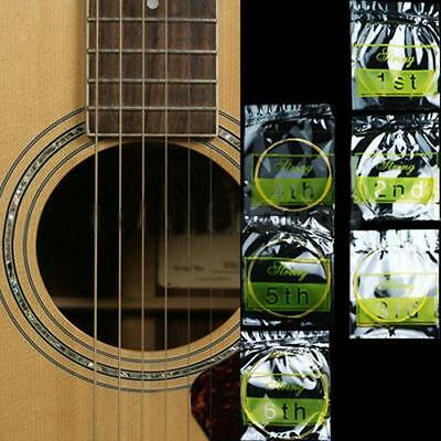 $ CDN1.81 • Buy Set Of 6 Steel Strings For Acoustic Guitar Fashion Accessories CS