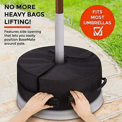 AU26.50 • Buy Fixed Weight Sand Bags Umbrella Parasol Base Stand Tent Outdoor Sun Shelter NEW