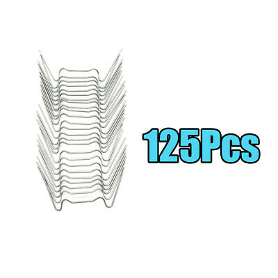 125Pcs W Type Wire Glazing Clips Stainless Steel Accessories For Greenhouse • 8.45£