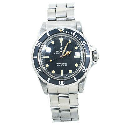 $ CDN17584.62 • Buy Rolex Oyster Submariner 5513 1.6MAutomatic Vintage Matte Dial Meters First Watch