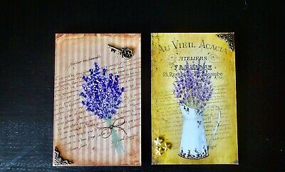 Lavender Flower Wall Decor French Home Picture Farmhouse Style Shabby Chic Art • 15.74£