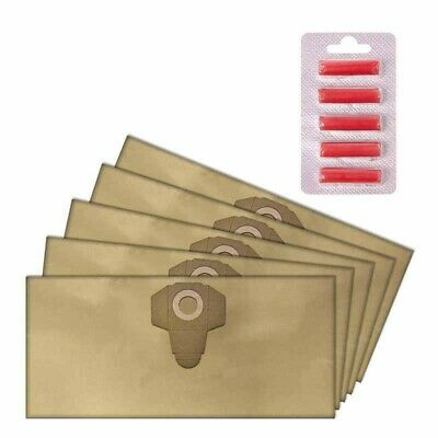 Dust Bag Scented Sheet Kit Replace For PNTS 30/4 Parkside Wet Dry Vacuum Cleaner • 16.44£
