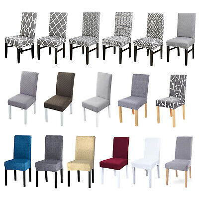 £3.99 • Buy Dining Chair Covers Slipcover Stretch Removable Seat Banquet Party 1PCS