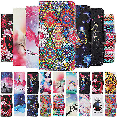 AU6.33 • Buy Case For IPhone 6 7 8 SE Plus XR XS Max Cover Painted Flip Stand Leather Wallet