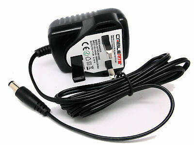 £10.99 • Buy Compatible With 6V AC-DC 500mA Power Adapter For Tunturi C20 Exercise Bike