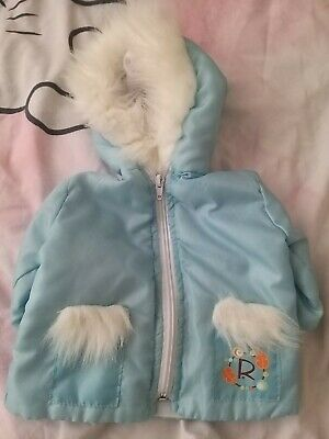 £4.99 • Buy SMOBY ROBY ROXIE ROSIE TODDLER SIZE DOLL COAT Vgc