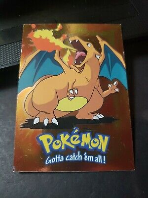 $29.99 • Buy Topps Pokemon The First Movie #06 Charizard Foil E6 OF 12