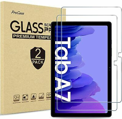 £5.79 • Buy 2PACK Tempered Glass Screen Protector For Samsung Tab A7 2020 10.4  SM-T500/T505
