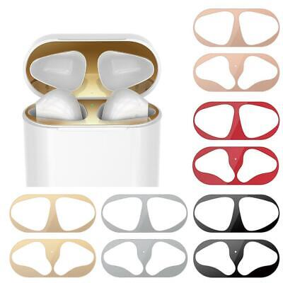 AU1.55 • Buy Metal Dust Guard Protective Sticker Film Cover For Airpods T1Y5 Accessories P8K0