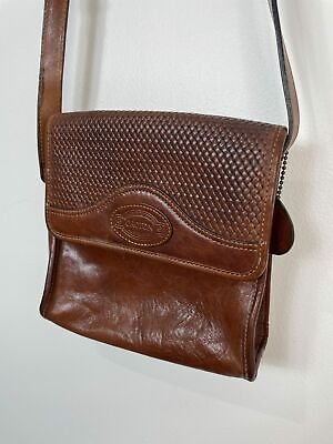 AU55 • Buy Vintage Oroton Tan Brown Leather Handbag Shoulder Bag