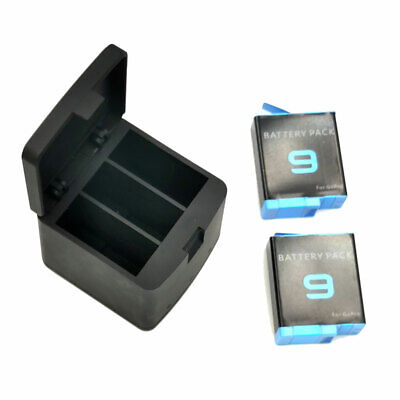 $ CDN17.03 • Buy 3-Slots LED Battery Charger With Type-C Cable Kit For GoPro Hero 9 Black Camera