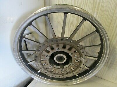 £65 • Buy Motorcycle Front Wheel 2.15 X 18 With Front Disc ,15 Spoke, Tubeless