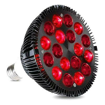 LED 54W Red Therapy Light Pain Relief Wrinkle Removel 660nm Infrared 850nm Y4U0 • 18.46£