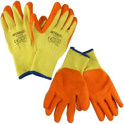£2.85 • Buy MULTI USE WORK GLOVES Builder Safety Warehouse Hand Protection Latex Coated Palm