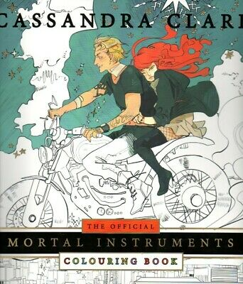NEW The Official Mortal Instruments Colouring Book Cassandra Clare ADULTS & KIDS • 13.26£