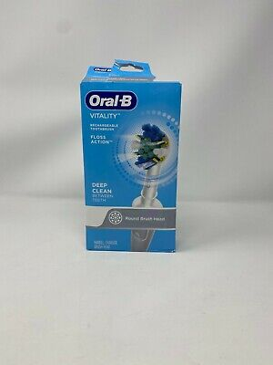 AU24.31 • Buy Oral-B Vitality Floss Action Rechargeable Toothbrush(Round Brush Head)
