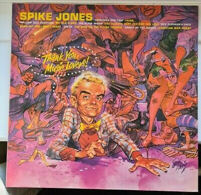 £4.99 • Buy Spike Jones And His City Slickers - Thank You, Music Lovers! - LP Vinyl Record