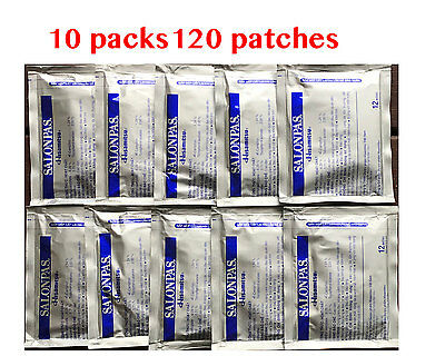 AU23.75 • Buy Salonpas Patch Hisamitsu Pain Relieving 10 Packs 120 Patches Made In Vietnam