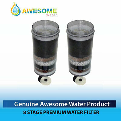 AU80 • Buy AWESOME WATER FILTER - 8 Stage Filter - Premium, 2 Pack