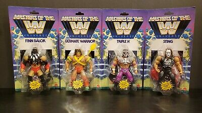 $188.88 • Buy Masters Of The WWE Universe Wave 1 Complete Set Of 4.