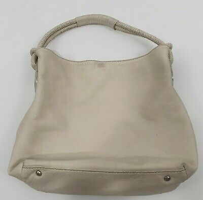 AU36 • Buy Oroton Leather Beige Hobo Handbag Sz Medium