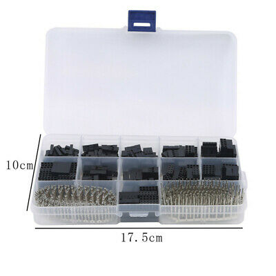 AU11.67 • Buy 620Pcs Dupont Crimp Pin Connector Header Jumper Wire Terminal Tool Kit 2.54mm CS