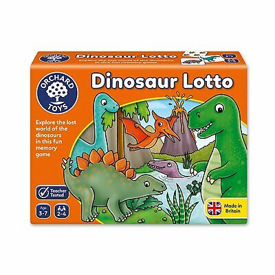 £8.54 • Buy Orchard Toys Dinosaur Lotto Game