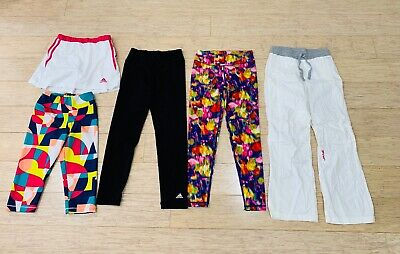 AU45 • Buy Girls Sports Clothes Size 7 8 ADIDAS Little Miss LORNA JANE Tights Tennis Skirt